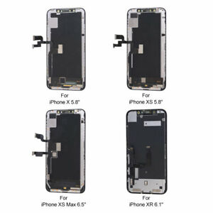 OLED LCD Display Touch Screen Digitizer Replacement For iPhone X XR XS XS MAX US