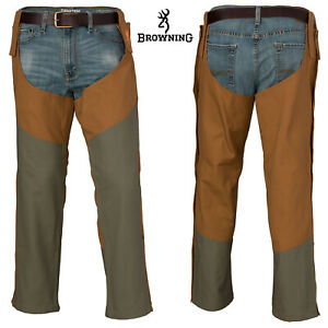 Browning Pheasants Forever Upland Chaps M Field Tan