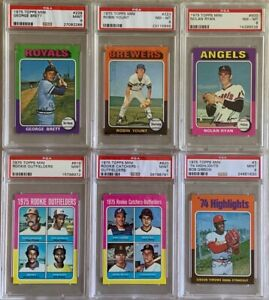 1975 Topps Mini Complete Set - #13 Current PSA Set Registry PSA 8  9 MINT!!!