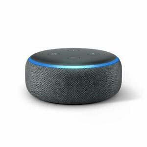 NEW Amazon Echo Dot 3rd Generation Smart Speaker with Alexa Grey Charcoal
