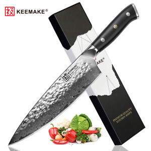 TWIN 8 inch chef knife ultra sharp damascus kitchen knives slicer vegetable cut
