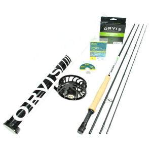 Orvis Helios 3F 905-4 Fly Rod Outfit : 9'0