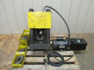 Weatherhead ET4000 Coll-O-Crimp Hydraulic Hose Crimping Machine Crimper 2