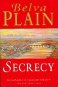 Secrecy by Plain, Belva Hardback Book The Fast Free Shipping