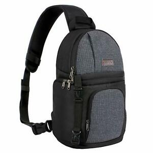 Mosiso 2019 Fashion DSLR Camera Bag Case Sling Backpack for Nikon Canon Sony