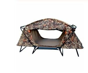 Camping Tube Bed Mattress Cot Off Ground Tent Hunting Camouflage Real Tree 1 Man