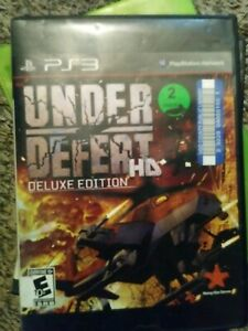 Playstation 3  Game Under Defeat deluxe edition HD