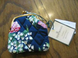 NWT Vera Bradley Kisslock Coin Purse Return To Happiness Very Rare