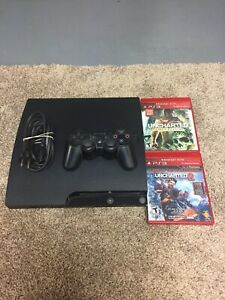 Sony PS3 Console And Controller With Games