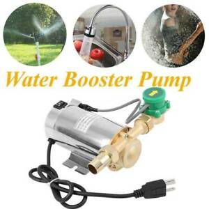 Household Booster Pump 90W 110V Automatic Boost Water Pressure Pump for Shower