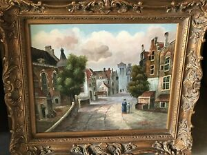 Beautiful Oil Painting From European Auction