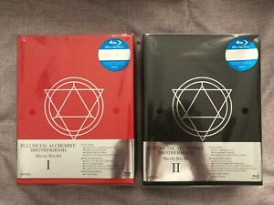 Fullmetal Alchemist Brotherhood Box Set 1&2 Complete Series Blu-Ray