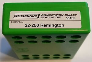 55106 REDDING COMPETITION SEATING DIE - 22-250 REMINGTON - NEW - FREE SHIP