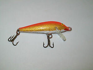 Rapala F 5 GFR Matte Finish Original Floating Lure Finland Fishing - Used (#4)