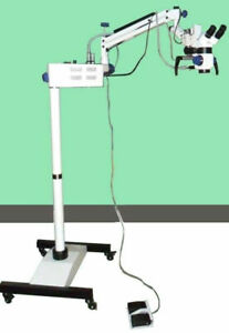 New Designed 5 Step Dental Microscope LED with accessories & Video Camera MARS