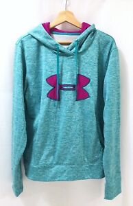 Under Armour Cold Gear Storm Hoodie Turquoise Womens L