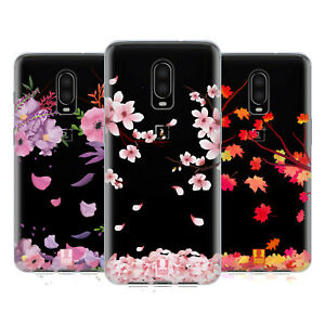 HEAD CASE DESIGNS BLOSSOMS AND LEAVES GEL CASE FOR AMAZON ASUS ONEPLUS