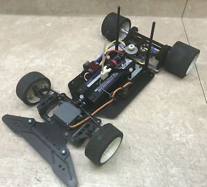 "Factory Works vtg RC10L 10L 10Lss LIPO conversion chassis 10.5"" drag 200mm"