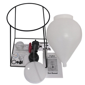 FastFerment Conical Fermenter - Home-Brew Kit - BPA Free Food Grade Primary 3 or