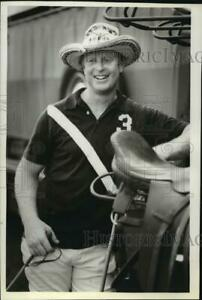 1981 Press Photo Red Armour plays with Milwaukee Polo Club Milwaukee WI $19.99