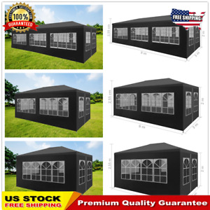 Outdoor Party Wedding Tent Gazebo Canopy Sun Shelter with 468 Walls Anthracite