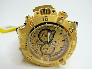 Invicta Men's Subaqua Noma III Watch 5517 Chronograph Gold Black