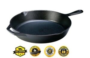 Lodge L10SK3 12 inch Cast Iron Skillet Cookware Pan