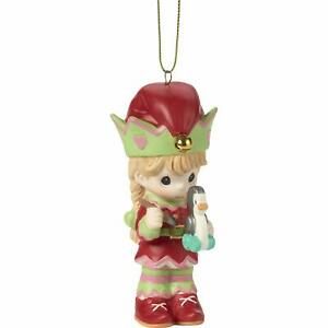 Precious Moments Paint Your Christmas with Love 4th Annual Elf Ornament