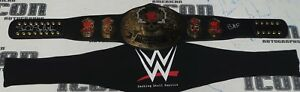 Stone Cold Steve Austin Signed WWE Smoking Skull Replica Title Belt BAS COA BMF