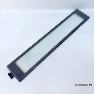 WHIRLPOOL MAYTAG LAMP GLASS LENS & LIGHT COVER FROM MICROWAVE MODEL# GH8155XJQ.