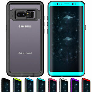 Waterproof Hybrid Rugged Case with Screen Protector For Samsung Galaxy Note 8