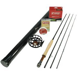G Loomis Asquith 490-4 Fly Rod Outfit : 4wt 9'0