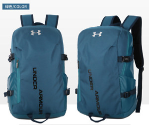 Under Armour Waterproof Nylon Backpack UA Sport Shoulder Bag Travel Package NEW