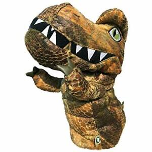 Golf T-Rex Driver Head Cover (Brown) Sports & Outdoors