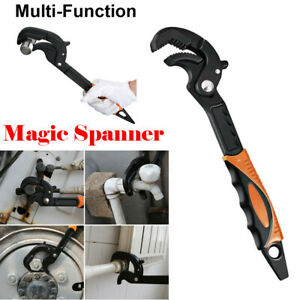 35mm Steel Adjustable Magic Wrench Multi-Function Spanner Universal Pipe Tool US