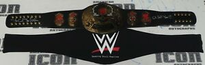 Stone Cold Steve Austin Signed WWE Smoking Skull Replica Title Belt BAS COA Hell
