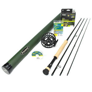 Sage X 697-4 Fly Rod Outfit : 6wt 9'6