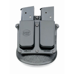 Fobus Double Magazine Roto Paddle Pouch 1911 Govnmt Ruger 97 Black 4500Ndrp