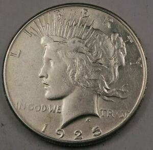 1925-S Peace Dollar // Choice AU // Better Date! (PD277)