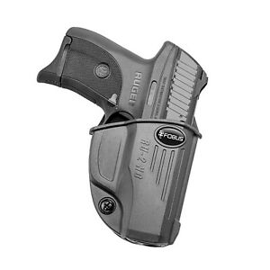 Fobus RU2NDBH Evolution Belt Holster-Ruger EC9s/LC380/LC9/LC9s Pro