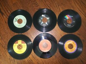 100+ 45 rpm Vinyl Records from 50's 60s & 70s