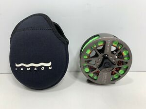 LAMSON Litespeed LS 3 Hard Alox Fly Reel with Soft Case, NEW without Box!