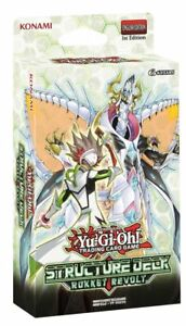 YuGiOh 3x's Structure Decks Rokket Revolt NEW Factory Sealed Mint Fast Free Ship