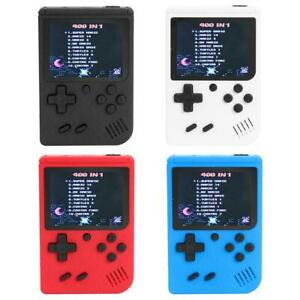3 inch TFT Handheld Retro FC Game Console Built-in 400 Games 8 Bit Game Player