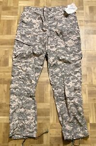 US Military Issue ACU Combat Pants Insect Guard Trousers Large-Long New