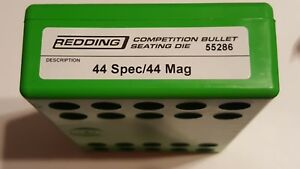 55286 REDDING COMPETITION SEATING DIE - 44 SPECIAL  44 MAGNUM - NEW - FREE SHIP