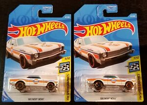 2018 HOT WHEELS '68 Chevy Nova Gulf White   **Make your own Bundle!**