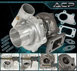 T3/T4 Turbo Charger .57 A/R Compressor Turbine 400 Hp 5 Bolt Flange Sc300 Sc400
