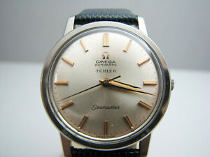 b304 Men's Stainless Steel Omega Seamaster Turler wristwatch