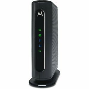 Motorola Cable Modem Wi Fi Router Comcast Xfinity Spectrum Cox Mediacom Internet